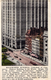 USA - NY - a Woolworth felhőkarcoló - 1926 (3)