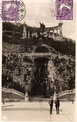 Budapest - Gellért-szobor (ICF) - 1930 (1)